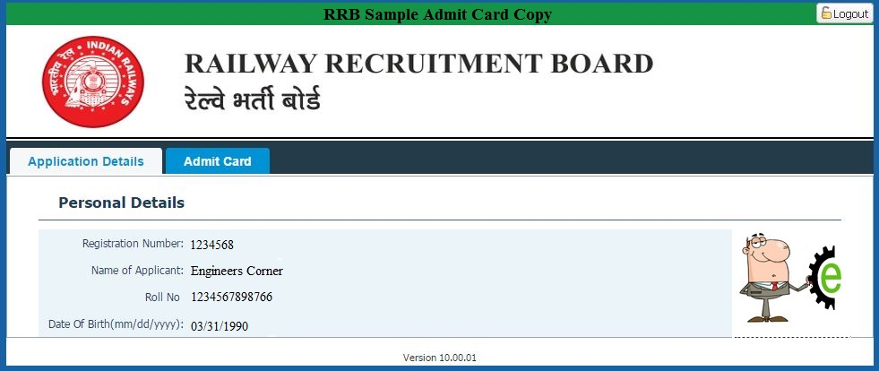Direct Download Link for RRB JE/SSE Admit Card 2015 | Railway ...