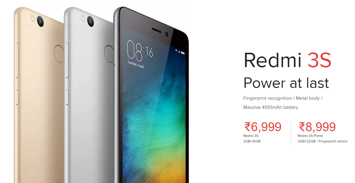 xiaomi redmi 3s redmi 3s prime launched in india price starts at rs 6999 engineers corner