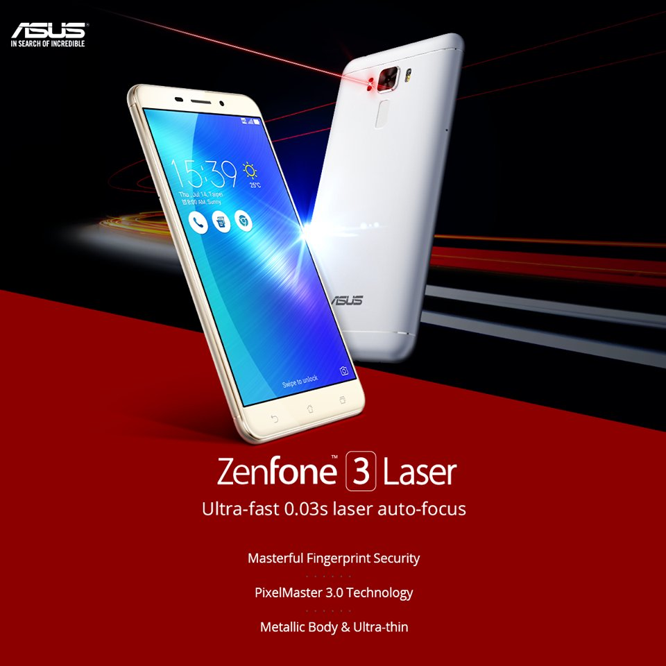 ASUS Zenfone 3 Laser ZC551KL Is Now Available In India