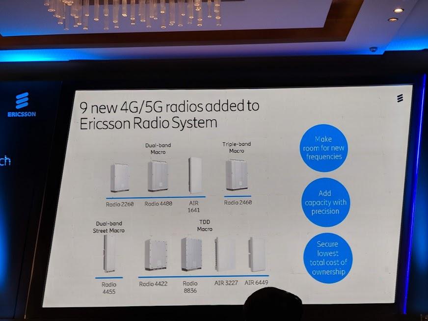 Ericsson enhances 5G Platform, Also deploys LTE equipment for